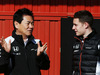 TEST F1 BARCELLONA 4 MARZO, (L to R): Yasuhisa Arai (JPN) Honda Motorsport Chief Officer with Stoffel Vandoorne (BEL) McLaren Test e Reserve Driver. 04.03.2016.