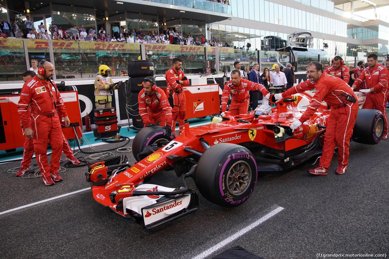 GP ABU DHABI, 26.11.2017 - Gara, Sebastian Vettel (GER) Ferrari SF70H