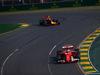 GP AUSTRALIA, 26.03.2017 - Gara, Kimi Raikkonen (FIN) Ferrari SF70H e Max Verstappen (NED) Red Bull Racing RB13