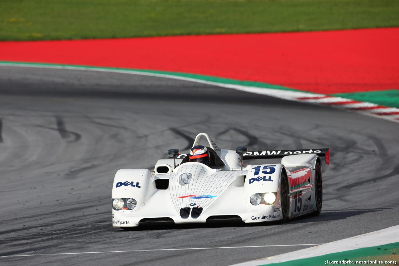 GP AUSTRIA, 08.07.2017-  Legends Parade, Gherard Berger (AUT) BMW V12 LMR