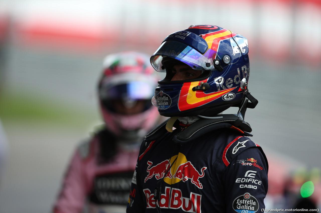 GP AUSTRIA, 08.07.2017- Carlos Sainz Jr (ESP) Scuderia Toro Rosso STR12