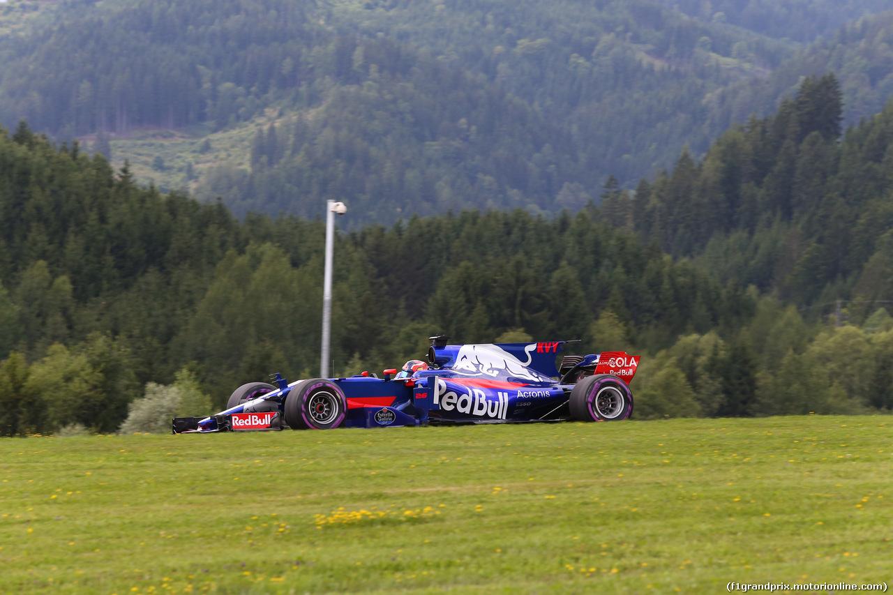 GP AUSTRIA, 08.07.2017- Qualifiche, Daniil Kvyat (RUS) Scuderia Toro Rosso STR12