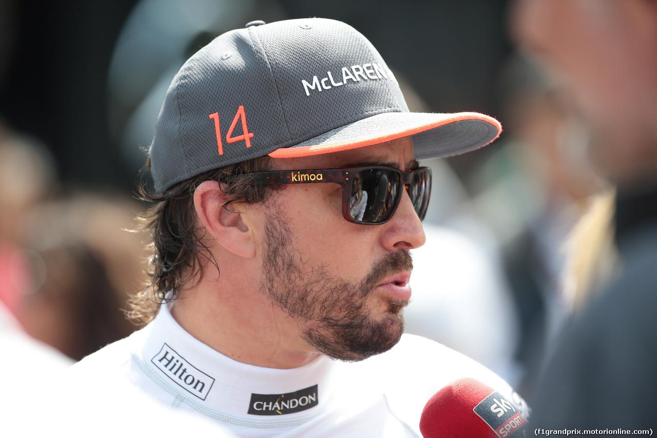 GP AUSTRIA, 08.07.2017- Fernando Alonso (ESP) McLaren Honda MCL32