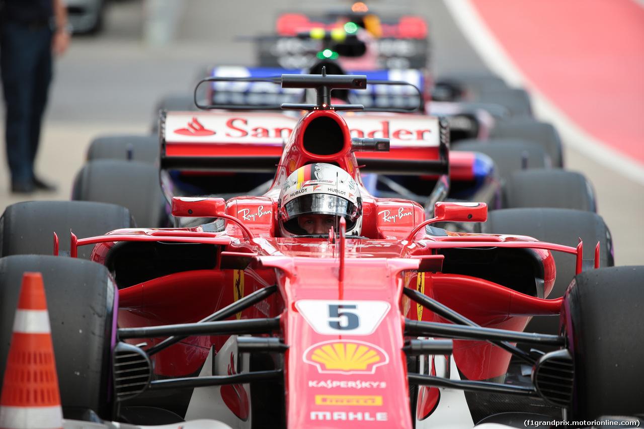 GP AUSTRIA, 08.07.2017- Qualifiche, Sebastian Vettel (GER) Ferrari SF70H