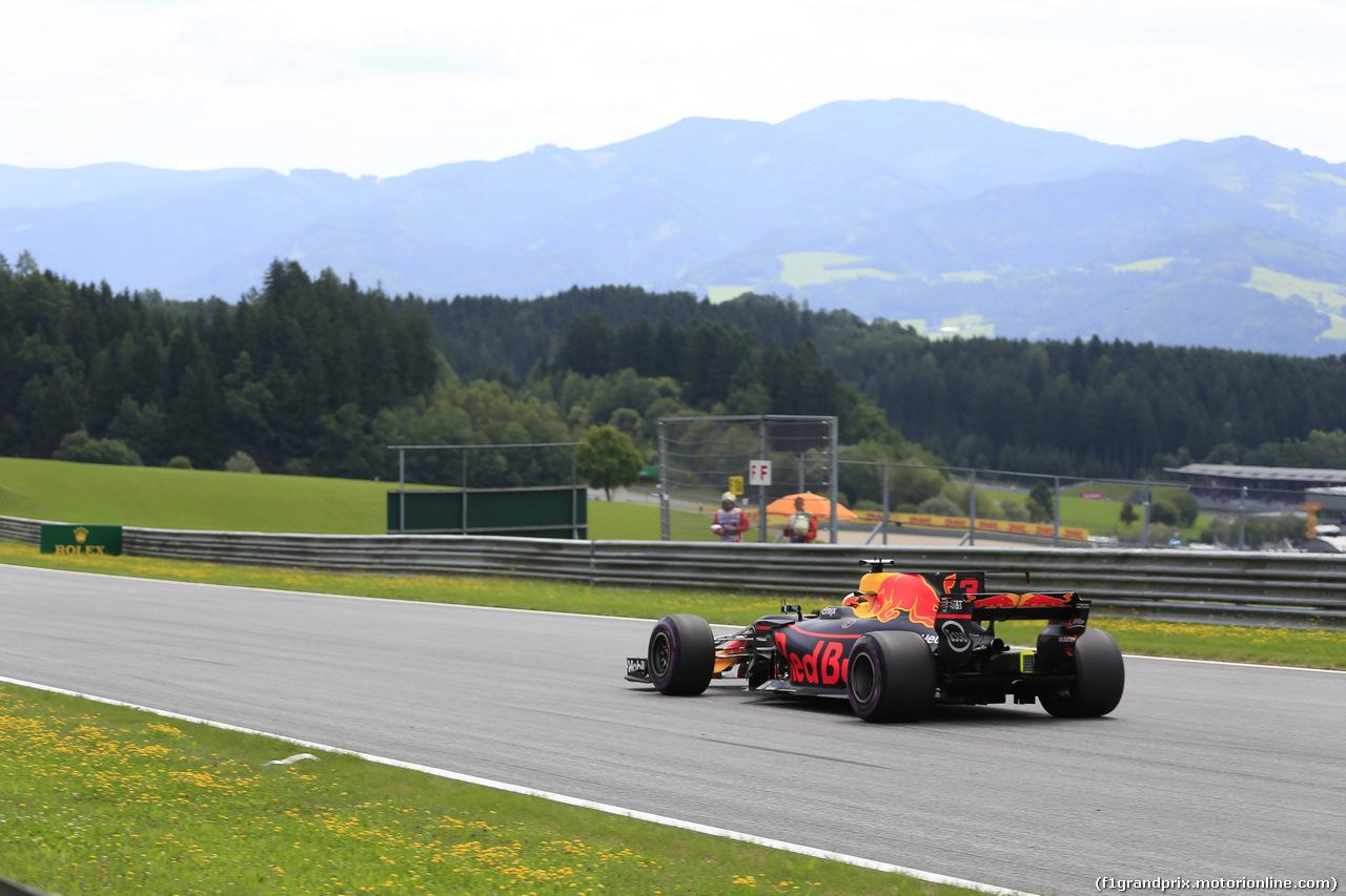 GP AUSTRIA, 08.07.2017- Qualifiche, Daniel Ricciardo (AUS) Red Bull Racing RB13