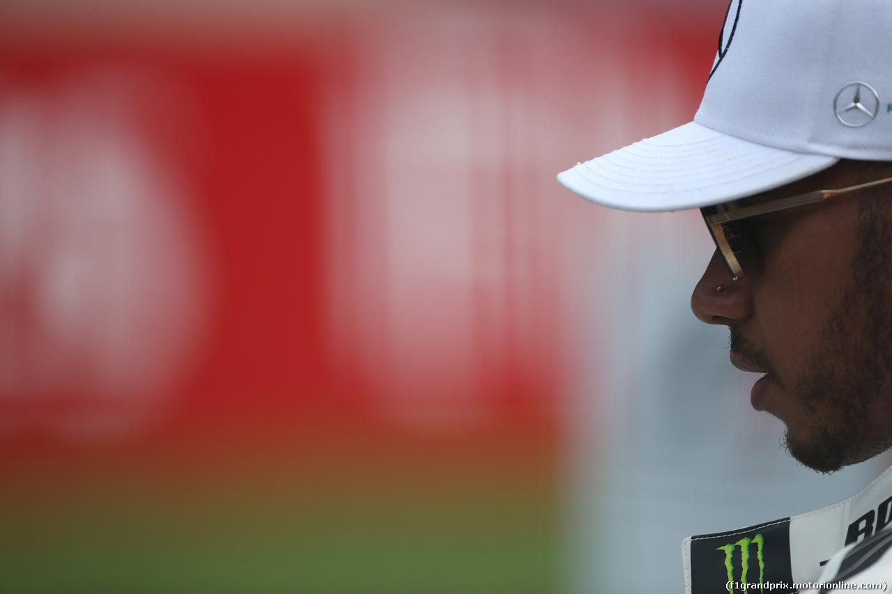 GP AUSTRIA, 08.07.2017- Lewis Hamilton (GBR) Mercedes AMG F1 W08