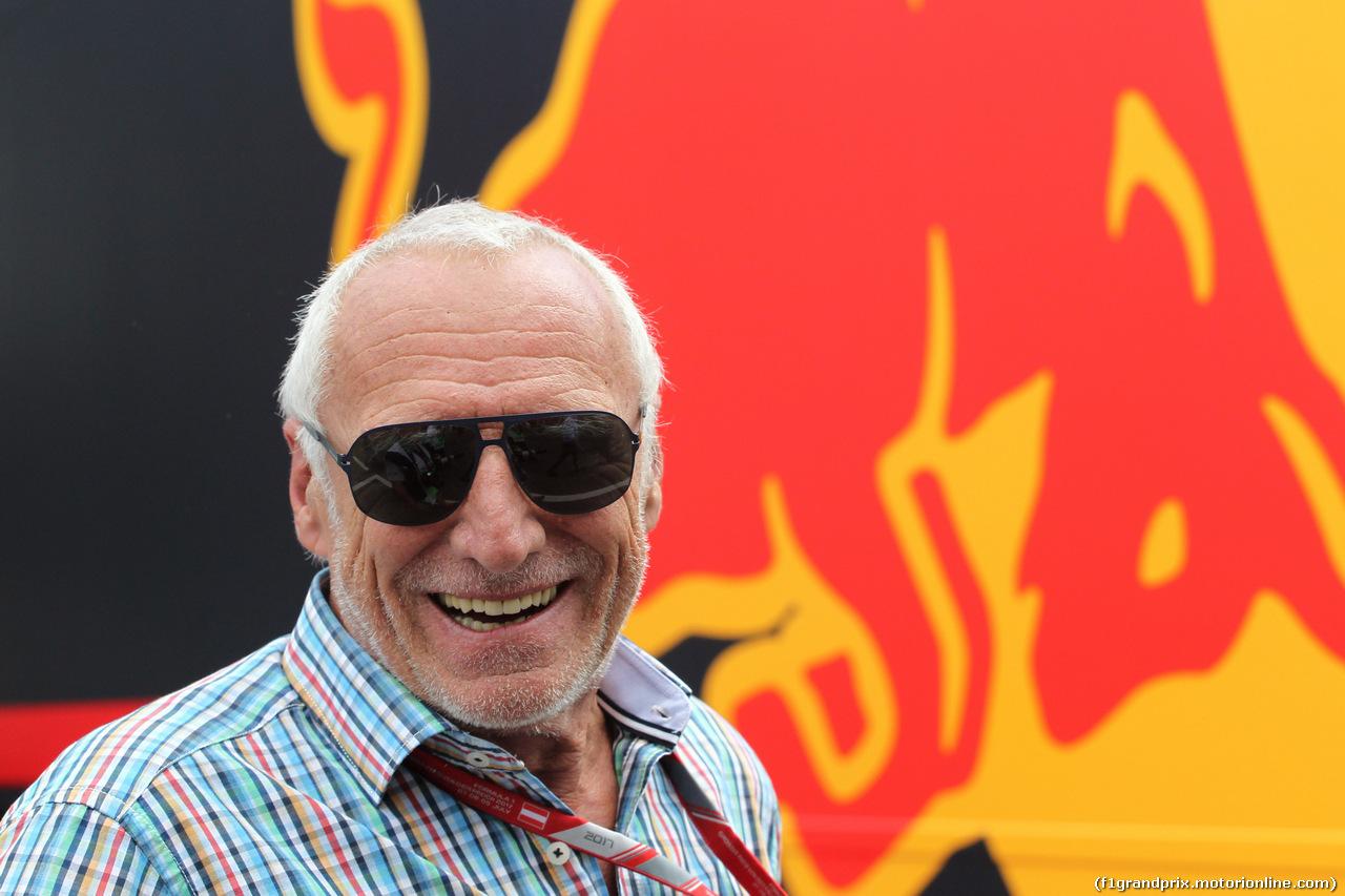 GP AUSTRIA, 09.07.2017- Dietrich Mateschitz (AUT) Redbull CEO e Founder