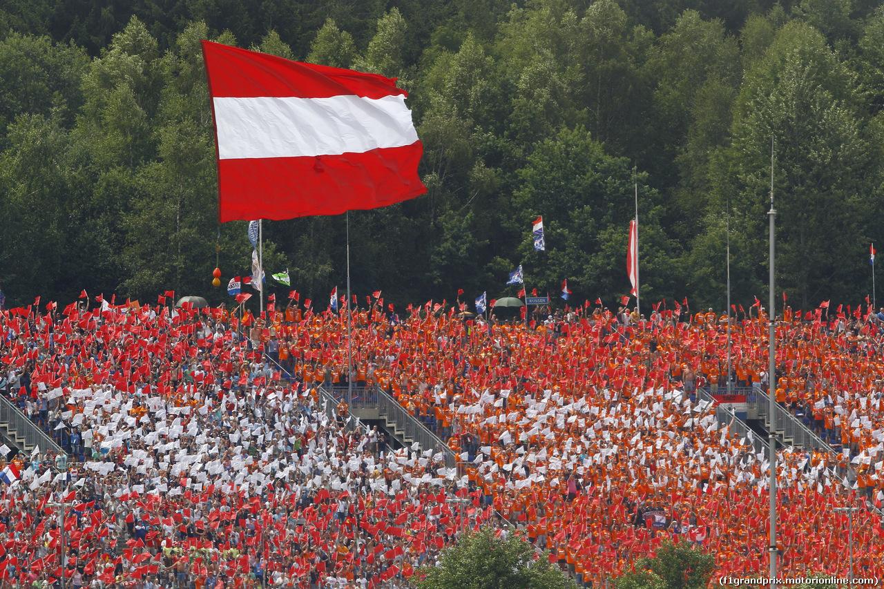 GP AUSTRIA - Gara