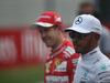 GP AUSTRIA, 08.07.2017- Lewis Hamilton (GBR) Mercedes AMG F1 W08 e Sebastian Vettel (GER) Ferrari SF70H