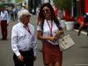GP AUSTRIA, 09.07.2017- Bernie Ecclestone (GBR) e Fabiana Flosi (BRA) sua moglie