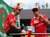 GP AUSTRIA, 09.07.2017- Sebastian Vettel (GER) Ferrari SF70H e Kimi Raikkonen (FIN) Ferrari SF70H