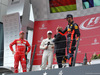 GP AUSTRIA, 09.07.2017- podium, winner Valtteri Bottas (FIN) Mercedes AMG F1 W08, 2nd Sebastian Vettel (GER) Ferrari SF70H, 3rd Daniel Ricciardo (AUS) Red Bull Racing RB13 e martin Brundle (GBR)