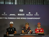 GP AUSTRIA, 06.07.2017- Giovedi' Press Conference, Lewis Hamilton (GBR) Mercedes AMG F1 W08 , Kevin Magnussen (DEN) Haas F1 Team VF-17 e Sebastian Vettel (GER) Ferrari SF70H