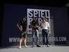 GP AUSTRIA, 06.07.2017- Sergio Perez (MEX) Sahara Force India F1 VJM010 e Esteban Ocon (FRA) Sahara Force India F1 VJM10