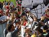 GP AUSTRIA, 06.07.2017- Fernando Alonso (ESP) McLaren Honda MCL32 with a cardboard silhouette of himself  made by a fan