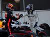 GP AZERBAIJAN, 25.06.2017 - Gara, Daniel Ricciardo (AUS) Red Bull Racing RB13 vincitore e 3rd place Lance Stroll (CDN) Williams FW40