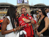 GP BAHRAIN, 16.04.2017 - Gara, Naomi Campbell (GBR)a e Minttu Raikkonen, wife of Kimi Raikkonen (FIN)