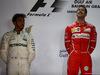 GP BAHRAIN, 16.04.2017 - Gara, 2nd place Lewis Hamilton (GBR) Mercedes AMG F1 W08 e Sebastian Vettel (GER) Ferrari SF70H vincitore