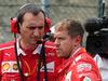 GP BELGIO, 27.08.2017 -  Gara, Riccardo Adami (ITA) Ferrari Gara Engineer e Sebastian Vettel (GER) Ferrari SF70H