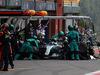 GP BELGIO, 27.08.2017 -  Gara, Pit stop, Valtteri Bottas (FIN) Mercedes AMG F1 W08