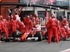 GP BELGIO, 27.08.2017 -  Gara, Pit stop, Kimi Raikkonen (FIN) Ferrari SF70H
