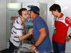 GP BRASILE, 12.11.2017 - Nicola Todt (FRA), Manager di Felipe Massa, Rubens Barrichello (BRA) e Caio Colleti (BRA)
