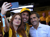 GP BRASILE, 12.11.2017 - Marina Ruy Barbosa (BRA) Actress with his husband Alexandre André Negrao (BRA) e Alain Prost (FRA) Renault Sport F1 Team Special Advisor