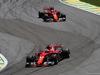 GP BRASILE, 12.11.2017 - Gara, Kimi Raikkonen (FIN) Ferrari SF70H e Sebastian Vettel (GER) Ferrari SF70H