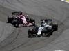 GP BRASILE, 12.11.2017 - Gara, Sergio Perez (MEX) Sahara Force India F1 VJM010 e Felipe Massa (BRA) Williams FW40