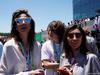 GP BRASILE, 12.11.2017 - Gara, (L-R) Fabiana Flosi (BRA), Wife of Bernie Ecclestone