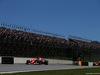 GP BRASILE, 12.11.2017 - Gara, Kimi Raikkonen (FIN) Ferrari SF70H e Max Verstappen (NED) Red Bull Racing RB13