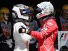GP BRASILE, 12.11.2017 - Gara, 2nd place Valtteri Bottas (FIN) Mercedes AMG F1 W08 e Sebastian Vettel (GER) Ferrari SF70H vincitore