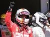 GP BRASILE, 12.11.2017 - Gara, Sebastian Vettel (GER) Ferrari SF70H vincitore e 2nd place Valtteri Bottas (FIN) Mercedes AMG F1 W08