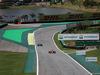 GP BRASILE, 12.11.2017 - Gara, Sebastian Vettel (GER) Ferrari SF70H davanti a Valtteri Bottas (FIN) Mercedes AMG F1 W08