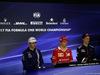 GP BRASILE, 09.11.2017 - Conferenza Stampa, Esteban Ocon (FRA) Sahara Force India F1 VJM10, Kimi Raikkonen (FIN) Ferrari SF70H e Brendon Hartley (NZL) Scuderia Toro Rosso STR12