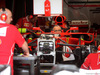 GP BRASILE, 09.11.2017 - Ferrari garage