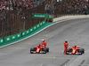 GP BRASILE, 11.11.2017 - Qualifiche, 2nd place Sebastian Vettel (GER) Ferrari SF70H e 3rd place Kimi Raikkonen (FIN) Ferrari SF70H
