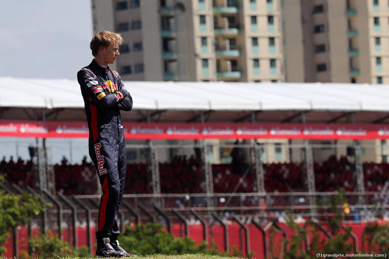 GP BRASILE, 10.11.2017 - Prove Libere 1, Brendon Hartley (NZL) Scuderia Toro Rosso STR12