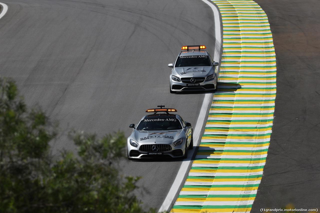 GP BRASILE, 10.11.2017 - Prove Libere 1, Safety car