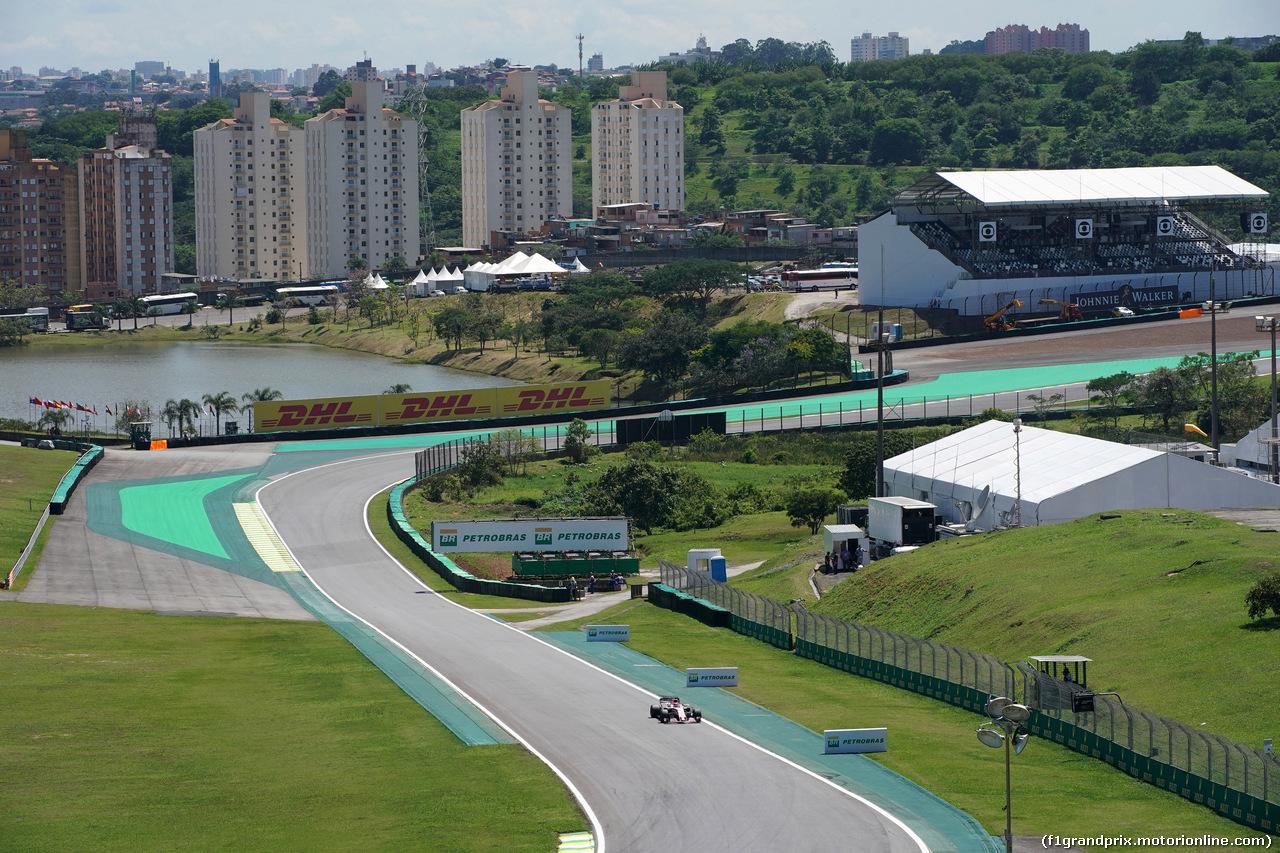 GP BRASILE, 10.11.2017 - Prove Libere 1, George Russell (GBR) Test Driver, Sahara Force India F1 VJM010