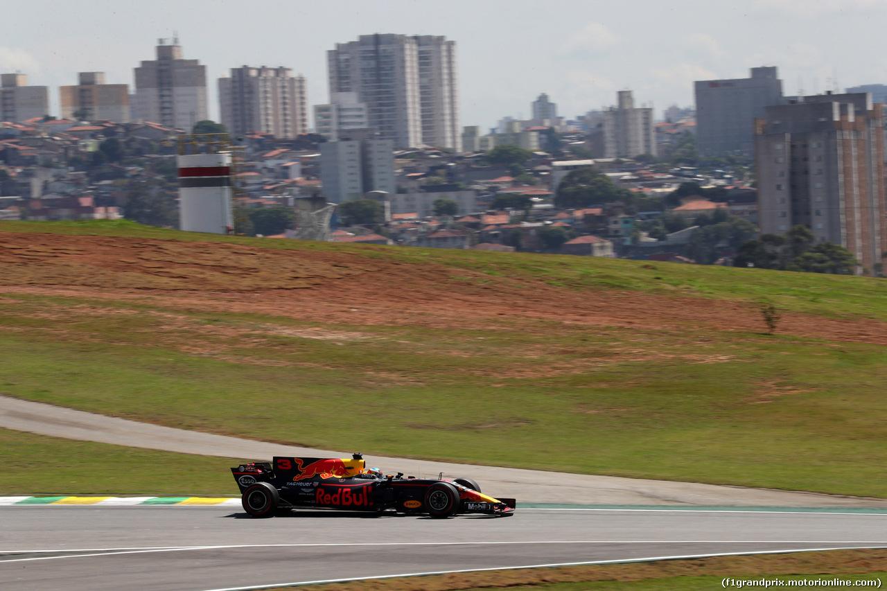 GP BRASILE, 10.11.2017 - Prove Libere 1, Sebastian Vettel (GER) Ferrari SF70H