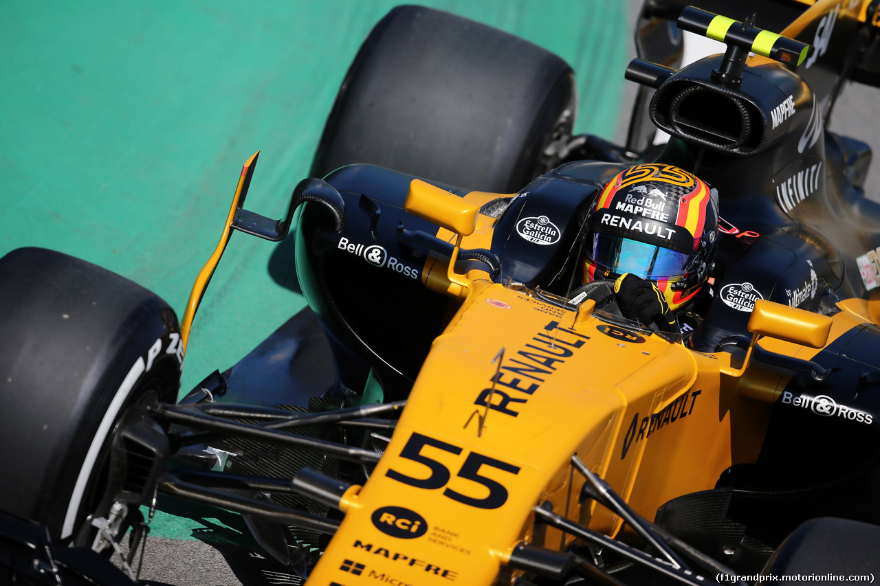 GP BRASILE, 10.11.2017 - Prove Libere 1, Carlos Sainz Jr (ESP) Renault Sport F1 Team RS17