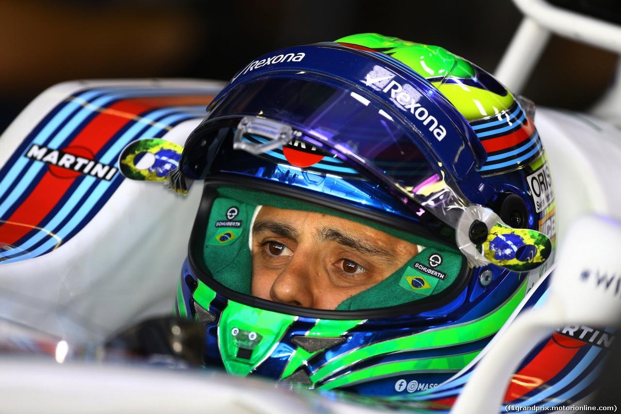 GP BRASILE, Felipe Massa (BRA) Williams FW40 10.11.2017 - Prove Libere 1,