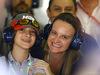 GP BRASILE, 10.11.2017 - Free Practice 1, Renata Barrichello Bartz e his son Rafael Barrichello Bartz