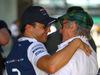 GP BRASILE, 10.11.2017 - Free Practice 1, Felipe Massa (BRA) Williams FW40 e Sir Jackie Stewart (GBR)