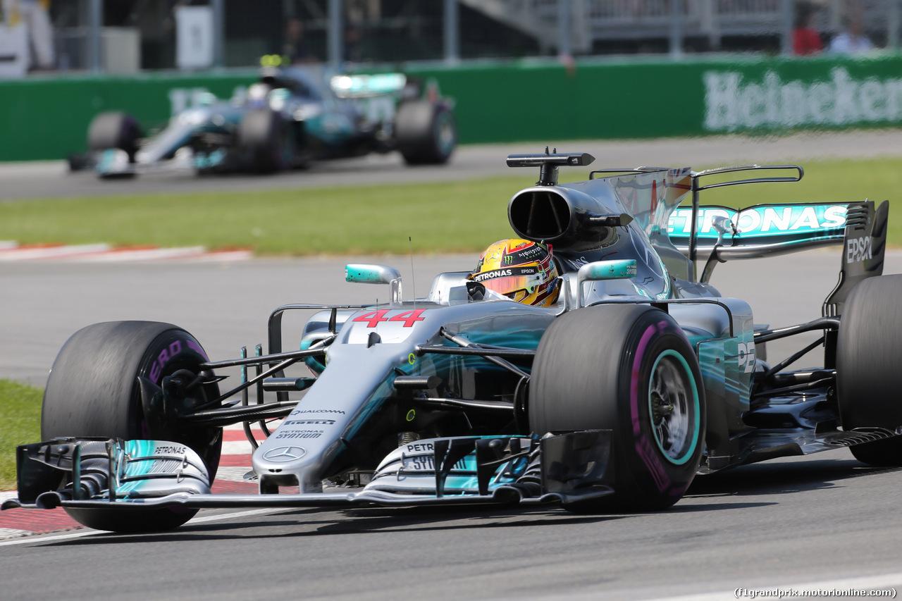 GP CANADA, 11.06.2017- Gara, Lewis Hamilton (GBR) Mercedes AMG F1 W08