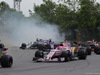 GP CANADA, 11.06.2017- Gara, Esteban Ocon (FRA) Sahara Force India F1 VJM10 behind 55 crash