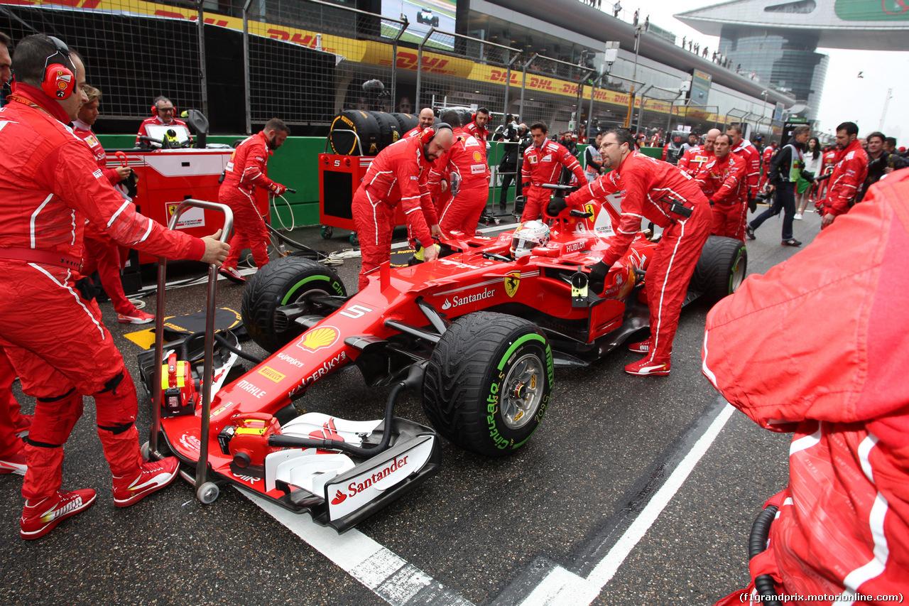 GP CINA, 09.04.2017 - Gara, Sebastian Vettel (GER) Ferrari SF70H