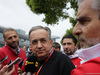 GP CINA, 09.04.2017 - Sergio Marchionne (ITA), Ferrari President e CEO of Fiat Chrysler Automobiles e Maurizio Arrivabene (ITA) Ferrari Team Principal