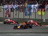 GP CINA, 09.04.2017 - Gara, Max Verstappen (NED) Red Bull Racing RB13 davanti a Kimi Raikkonen (FIN) Ferrari SF70H e Sebastian Vettel (GER) Ferrari SF70H